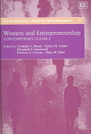Women and Entrepreneurship Book