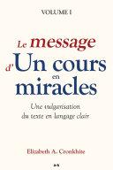 Pdf Le message d'Un cours en miracles Telecharger