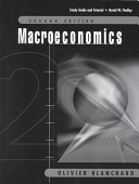 Study Guide and Tutorial  Second Edition  Macroeconomics  Olivier Blanchard