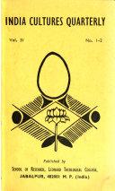 India Cultures Quarterly