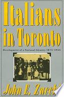 Italians In Toronto