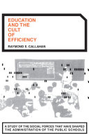 Pdf Education and the Cult of Efficiency