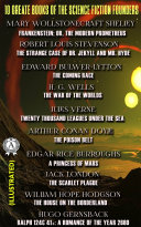 Pdf 10 Greate Books of the Science Fiction Founders (illustrated)