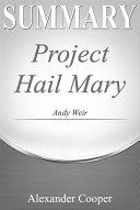 Pdf Summary of Project Hail Mary