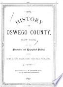 History of Oswego County  New York