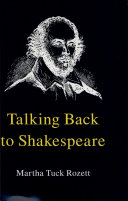 Talking Back to Shakespeare