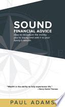 Sound Financial Advice Book