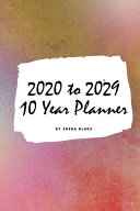 2020 2029 Ten Year Monthly Planner  Small Softcover Calendar Planner