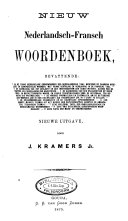Nieuw Nederlandsch-Fransch woordenboek ebook