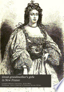 Great grandmother s Girls in New France Book PDF