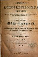 Vollständiges Bücher-Lexicon