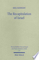 The Recapitulation Of Israel