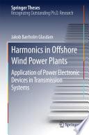 Harmonics in Offshore Wind Power Plants