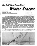 The Cold Hard Facts about Winter Storms Book