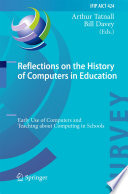 Reflections on the History of Computers in Education