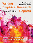Writing Empirical Research Reports