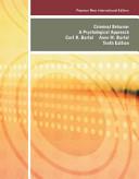 Criminal Behavior: Pearson New International Edition