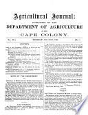Agricultural Journal Book PDF