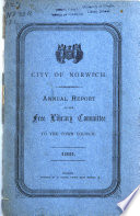 Annual Report of the Public Library Committee