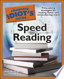 The Complete Idiot S Guide To Speed Reading Book PDF