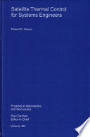 Satellite Thermal Control For Systems Engineers Book PDF