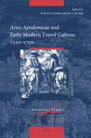 Artes Apodemicae and Early Modern Travel Culture  1550 1700