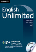 English Unlimited Intermediate A And B Teacher S Pack Teacher S Book With Dvd Rom