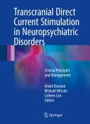 Transcranial Direct Current Stimulation in Neuropsychiatric Disorders