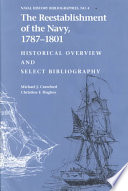 The Reestablishment of the Navy  1787 1801 Book PDF
