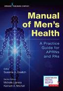 Manual of Men s Health Book