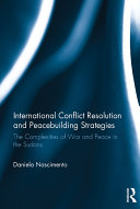 International Conflict Resolution and Peacebuilding Strategies