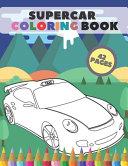 Supercar Coloring Book