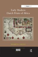 Early Modern Dutch Prints of Africa