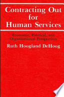 Contracting Out For Human Services Book PDF