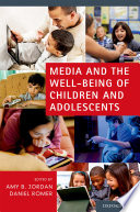 Media and the Well being of Children and Adolescents Book