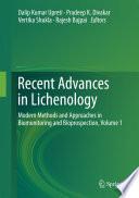 Recent Advances in Lichenology