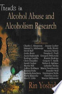 Trends In Alcohol Abuse And Alcoholism Research Book PDF