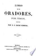 Libro de los oradores  , Volume 1