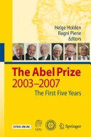 Pdf The Abel Prize Telecharger