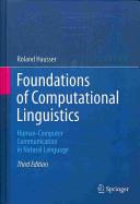 Cover of Foundations of Computational Linguistics