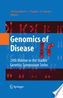 Genomics of Disease Book