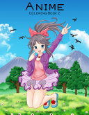 Anime Coloring Book 2