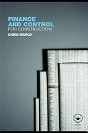 Finance and Control for Construction [Pdf/ePub] eBook