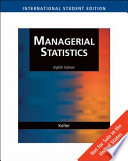 Aise Statistics for Management and Economics
