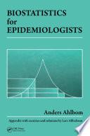 Biostatistics for Epidemiologists