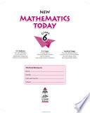 New Mathematics Today book 6