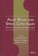 Acute Brain And Spinal Cord Injury Book PDF