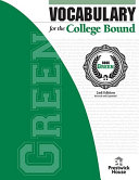Vocabulary for the College Bound - Green