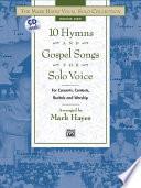 10 Hymns Gospel Songs For Solo Voice Medium High