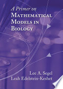 A Primer In Mathematical Models In Biology Book PDF